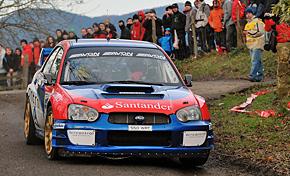 Victoria de Ander Vilariño en el Rallysprint de Gabiria
