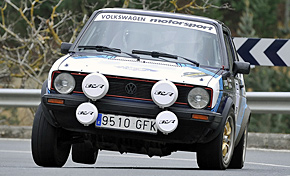 Victoria de Asier Santamaría y Joseba Macías en el Rallye de Gordexola