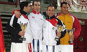 Seis medallas para Euskadi en el estatal senior