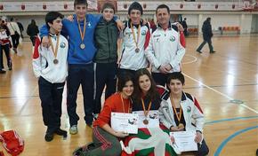 Euskadi brilla la modalidad de lucha libre olímpica