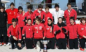 Itxas Gain, Santiagotarrak y Donosti-Kayak, los mejores en el Campeonato de Euskadi