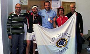 El Eibar, campeón de Euskadi por equipos en Vitoria