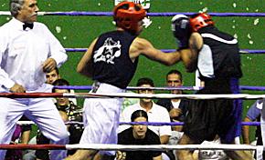 Los boxeadores vizcaínos dominan en el Campeonato de Euskadi