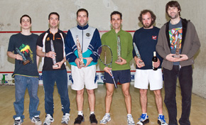 Alberto Ferreiro gana en la Liga Vasca de squash celebrado en Sestao