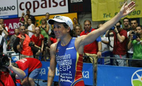 Eneko Llanos y Virginia Berasategi, campeones de Europa