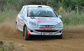 Iñaki Tijera, cuarto en dos ruedas motrices en el Rallye de Tierra de Guijuelo