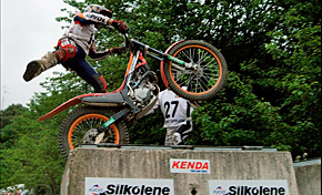 Alonsotegi estrenó el Campeonato de Euskadi de trial