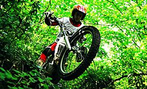 Circuito Vasco de trial en Zamudio