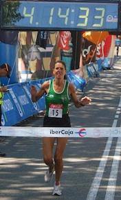 Atletismo: Eva Esnaola compite en el Campeonato de España de 100 km