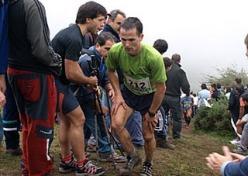 Zigor Iturrieta se sube al podio en la Ultra Trail del Mont Blanc