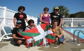 Kayak Surf: Garazi Iturralde y Edu Etxeberria, campeones del mundo