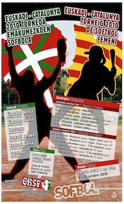 Sófbol: Euskadi vs. Catalunya