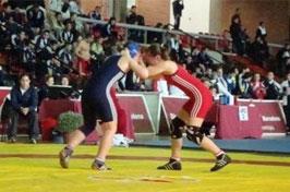 Lucha y Sambo: Campeonato de Euskadi de Luchas Olímpicas en Abetxuko