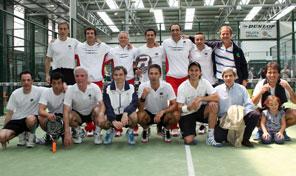 Euskadi de veteranos gana en Vitoria la final del Campeonato de España de Pádel por Autonomías