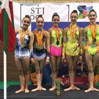 Gimnasia – La selección vasca gana el Campeonato de España en edad escolar