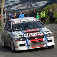 Automovilismo – Iban Tarsicio e Iñigo Peña, ganadores del IX Rallysprint de Ñañarri