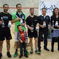Squash – Ganadores del Campeonato de Euskadi de Veteranos