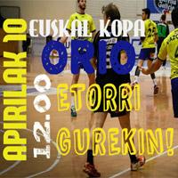 Balonmano – Final de la Euskal Kopa Masculina en Orio