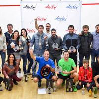 Squash – Laura Sáez y Alberto Ferreiro, campeones absolutos de Euskadi