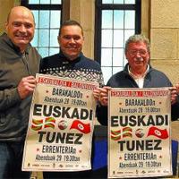 Balonmano – Euskadi se mide a Túnez en Barakaldo y Errenteria