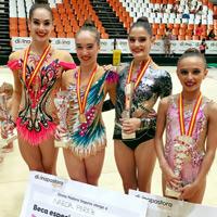 Gimnasia – Euskadi triunfa en el Campeonato Nacional de Rítmica