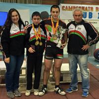 Halterofilia – Medallas en el estatal sub-15 para los representantes vascos