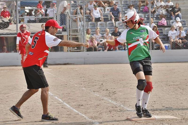Open Internacional de Canadá (Julio 2015). Selección de Euskadi Sófbol Femenino