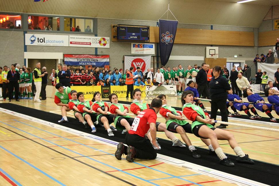 Campeonato del Mundo sobre goma en Holanda (18, 19, 20 y 21-02-2016). Selección Basque Country Sokatira