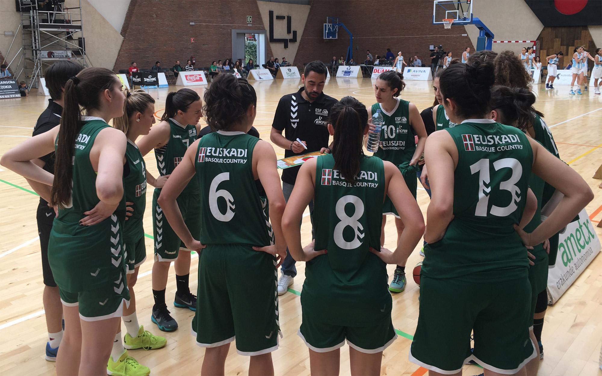 Triangular Euskadi, Argentina y Venezuela en Durango y Amorebieta (3, 4 y 5 de junio de 2016) Selección Euskadi Absoluta Femenina Baloncesto
