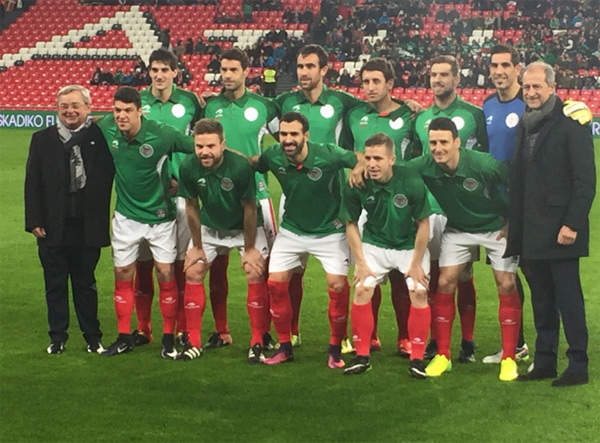 Euskal Selekzioa 3-Túnez 1 (30 de diciembre de 2016, San Mamés) Selección Absoluta de Fútbol