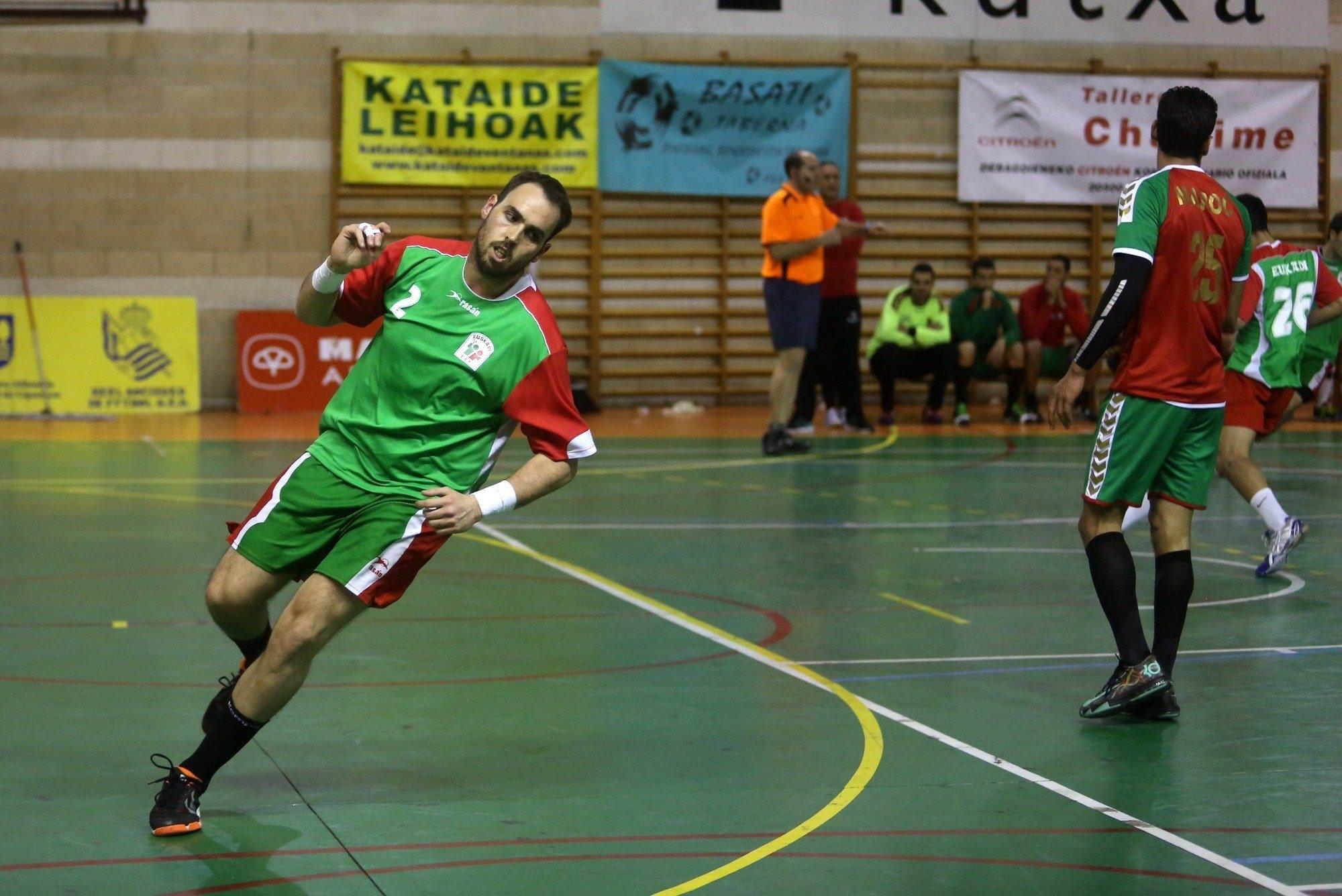 Euskadi-Marruecos (Diciembre 2015) Selección Euskadi masculina balonmano