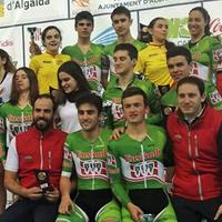 Ciclismo – Fenomenal balance de la Selección Vasca de pista en la Copa de España