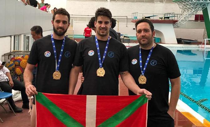 Nuevo éxito de Euskal Herria al ganar la Copa de México de waterpolo