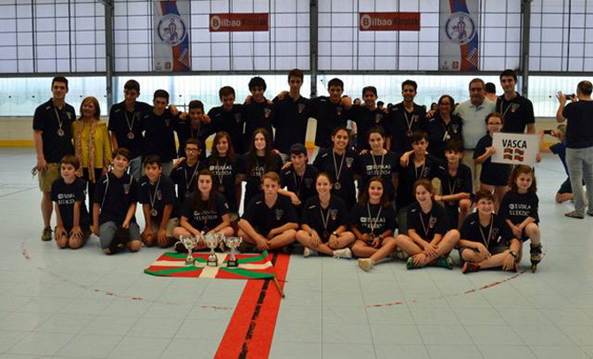 III Campeonato de Selecciones Autonómicas de Hockey Línea en Zorroza