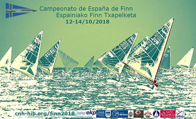 Hondarribia acoge el Campeonato de España absoluto de la clase Finn
