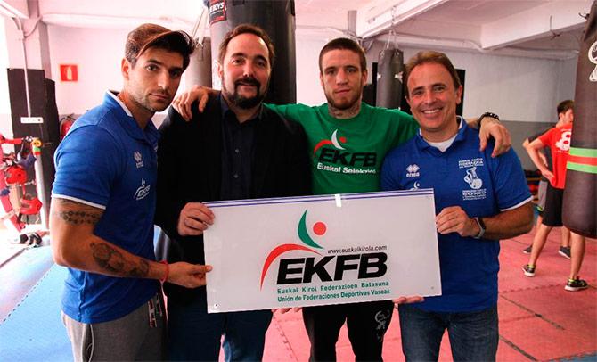 La Vasca de Boxeo es admitida como miembro de la Internacional (IBF)