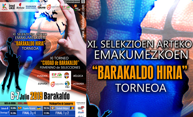Euskadi da a conocer la convocatoria para el 'XI Torneo Ciudad de Barakaldo'