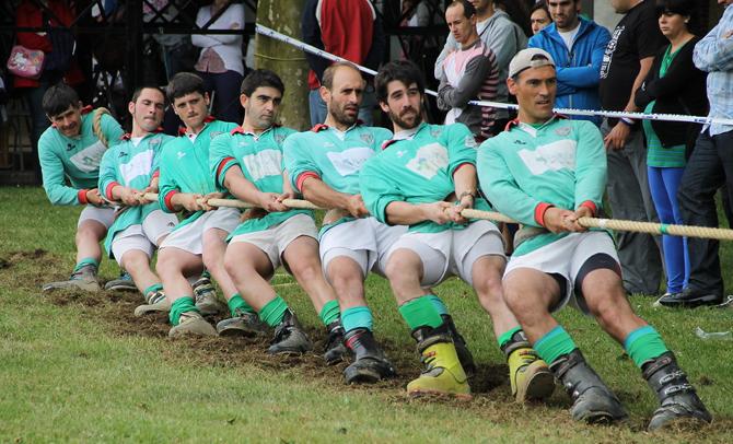 Campeonato de Euskadi de Sokatira en Getxo