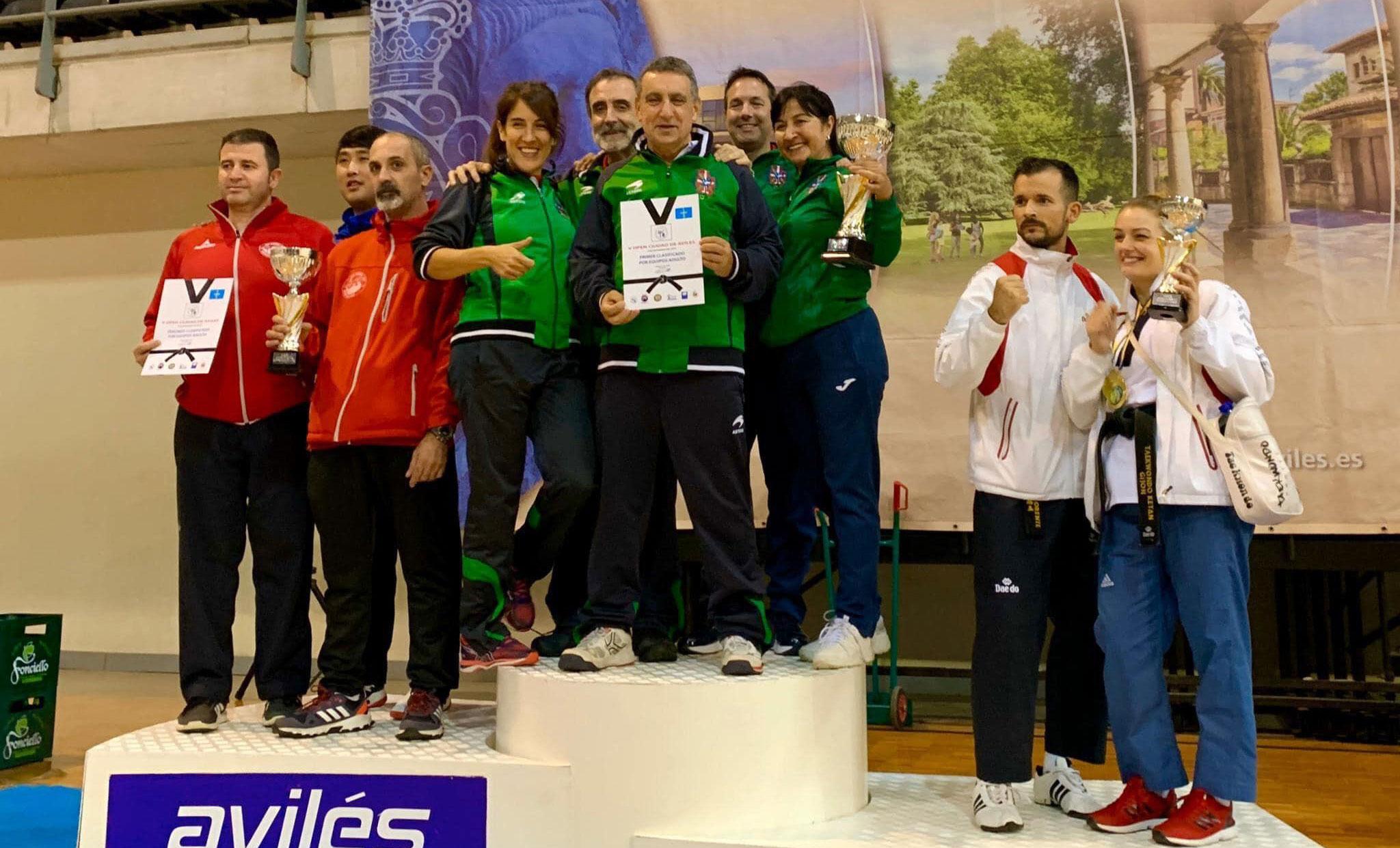 Euskadi gana el V Open de Avilés de Técnica