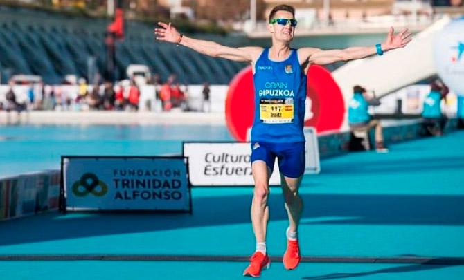 Mínima olímpica de Iraitz Arrospide