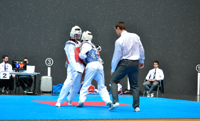 Bizkaia domina en el campeonato vasco senior