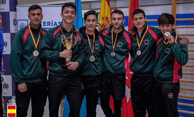 Grandes resultados del karate vasco en el estatal de Leganés