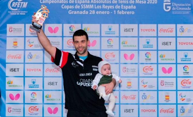 Endika Díez, del Leka Enea, se proclama campeón de España
