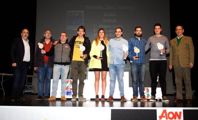 La Federación Vasca de Automovilismo EAF-FVA celebró su tradicional Gala de Entrega de Premios a los Campenatos de 2019
