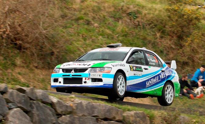 Mattin Villares y Jon Zozaia, ganadores del XXII Rallysprint de Gabiria-Legazpi