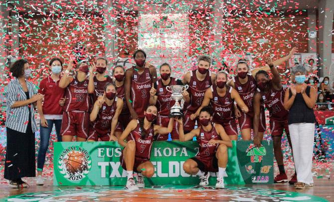 Lointek Gernika Bizkaia gana la Euskal Kopa femenina