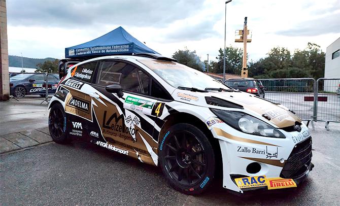 Iván Muñoz e Ibai Ajuriagoikoa ganan el XXVII Rallye Gernika-Lumo