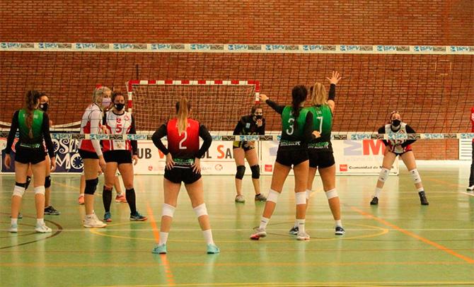 Las chicas del Sestao ganan dos partidos en Madrid