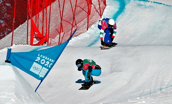 Alvaro Romero snowboarderrak irabazi du Reiteralmeko FIS lasterketa