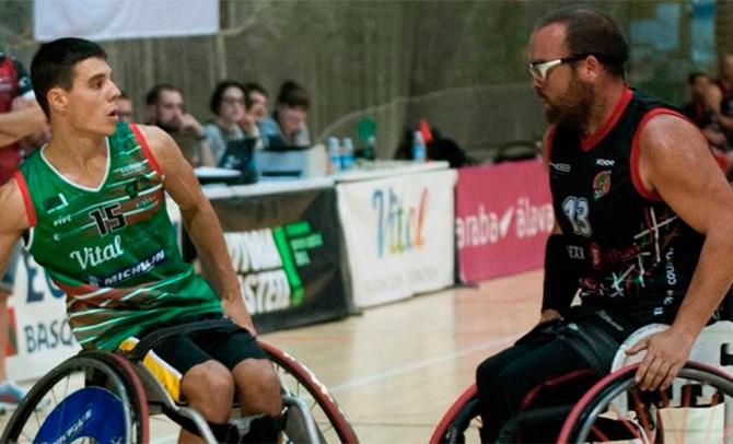 El derbi vasco entre el Zuzenak y Bidaideak reabre la competición liguera de baloncesto en silla de ruedas